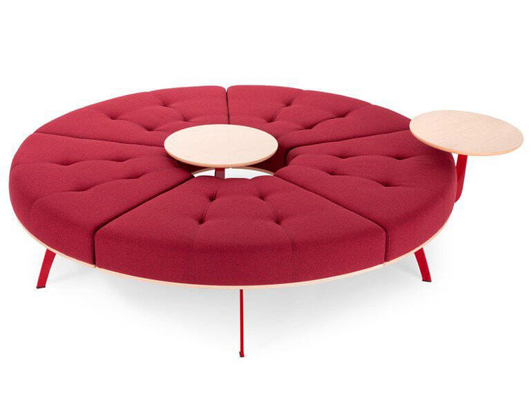 TRUE DESIGN ASSISE MILLEPIEDI CIRCULAR BENCH