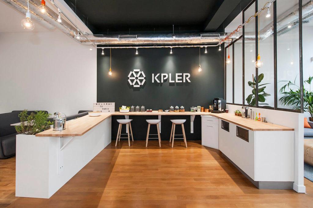 Aménagement d'un espace cafétéria - Réalisation KPLER - Paris 8