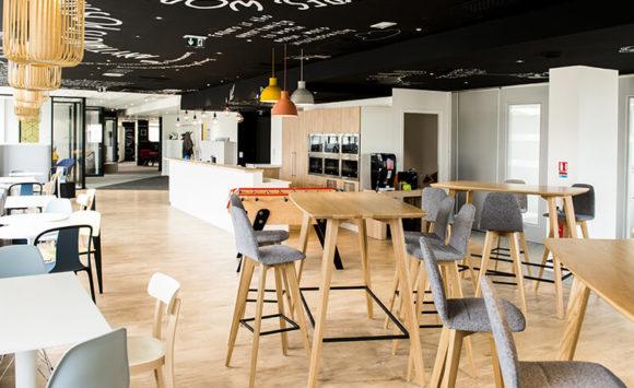 KWANKO - Aménagement open space et espaces informels