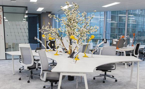 TOTAL - Aménagement des espaces de travail et salles de réunion
