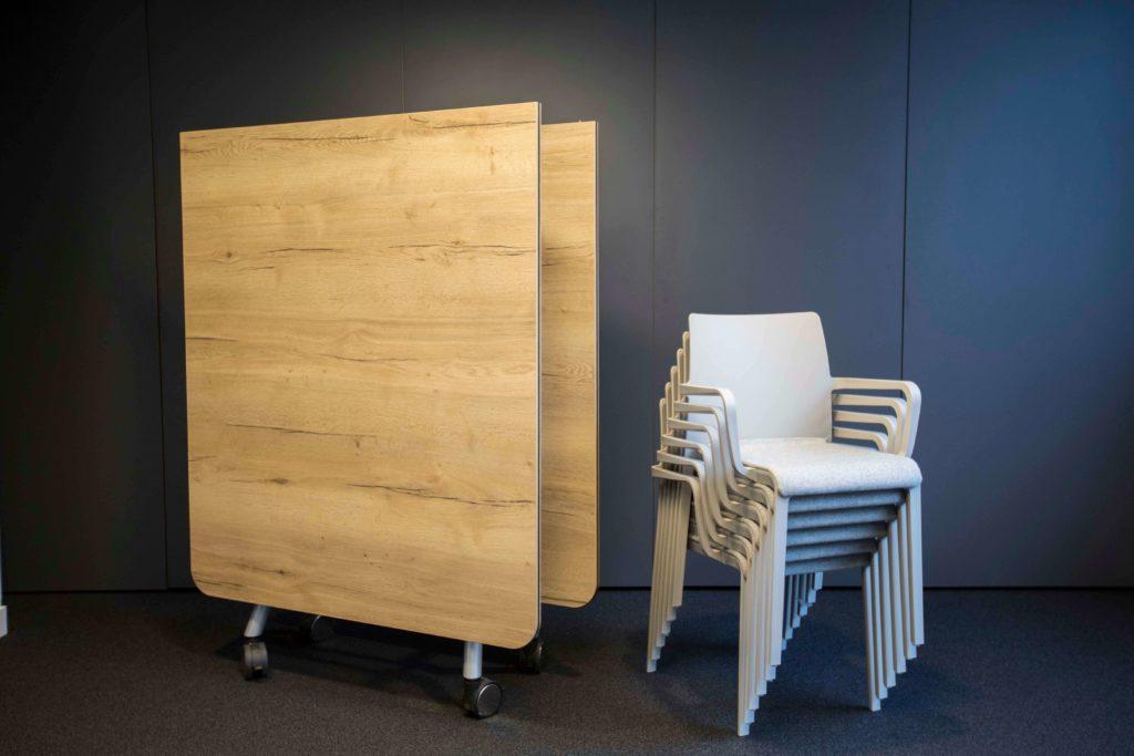Mobilier modulaires et flexibles - Réalisation HANGAR A PANAME - Paris 15