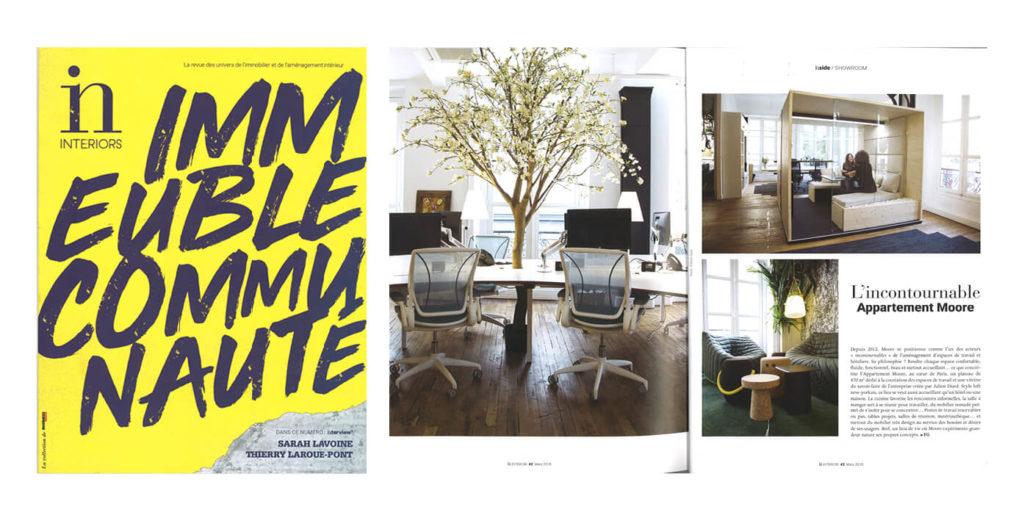 L 39 incontournable appartement moore dans le magazine in for Magazine amenagement interieur