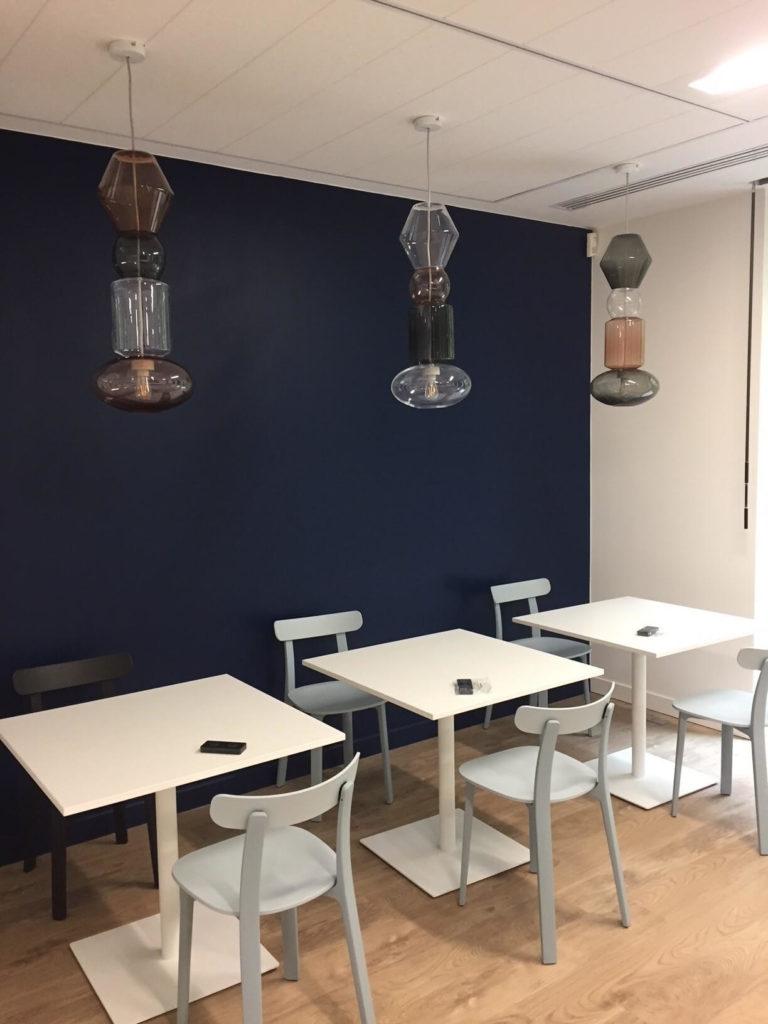Aménagement espace cafétéria - DENTAL MONITORING Paris 17
