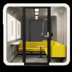 Cabine acoustique – 2Q LOUNGE – FRAMERY