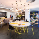 Foundry Giant table, Ego, Foundry Shelves – Location