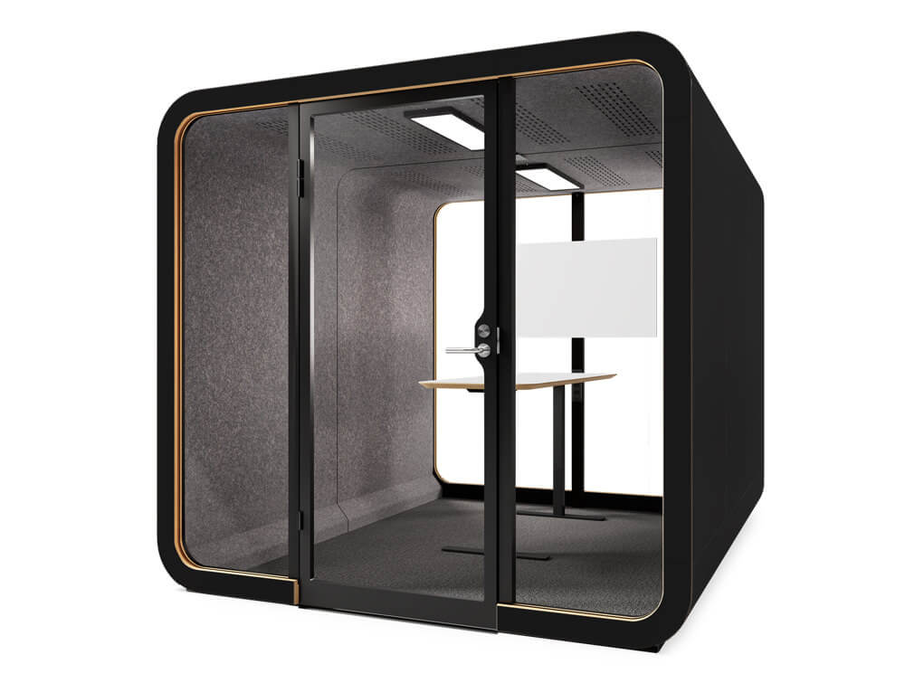 Framery-Smart-Office-Acoustic-Four-Person-Meeting-Pod-with-in-Black-Finish
