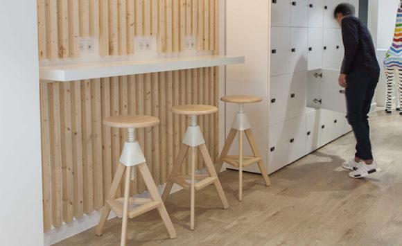 CELLENZA - Aménagement salles de réunion, open space, espace de restauration