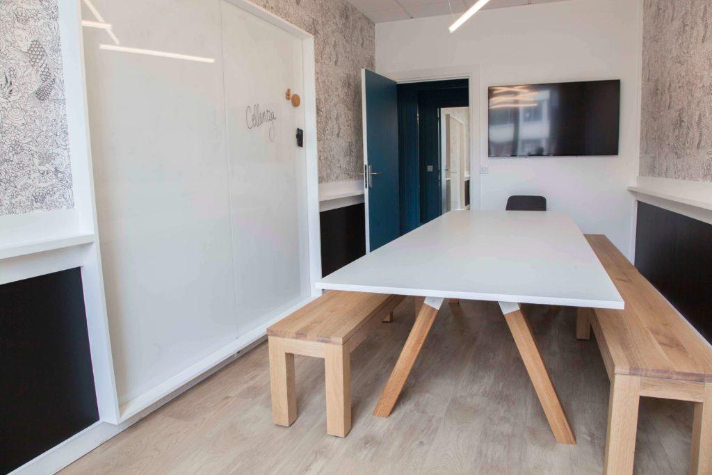 Aménagement espace de réunion - CELLENZA Paris 8