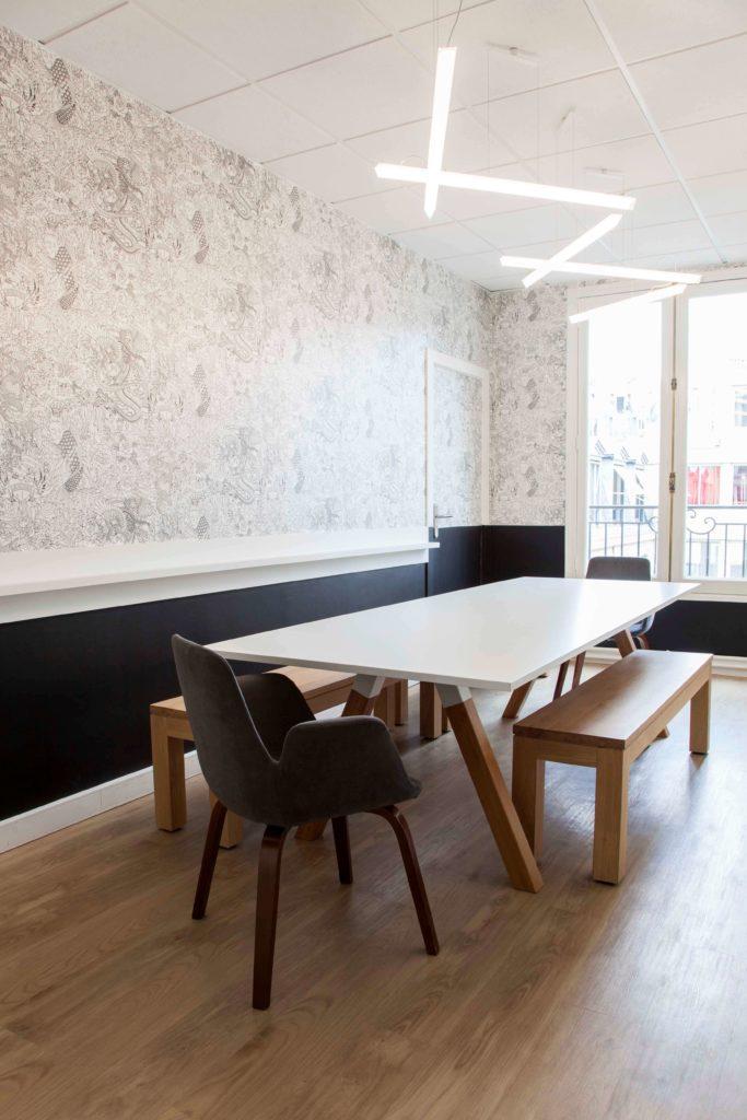 Aménagement espace de réunion- CELLENZA Paris 8