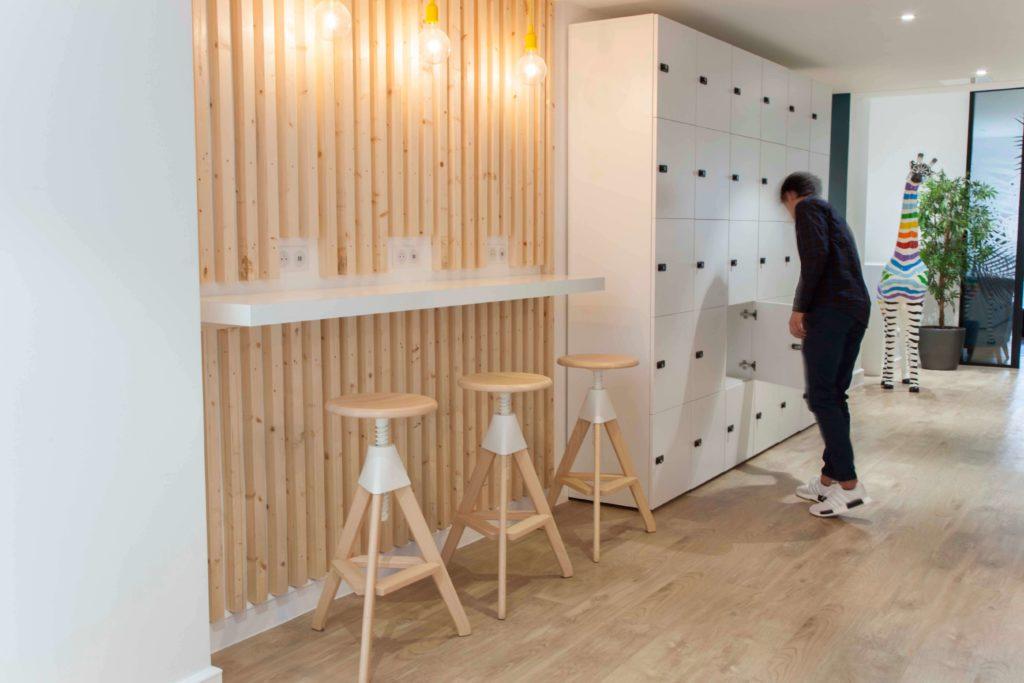 Aménagement espace d'accueil - CELLENZA Paris 8