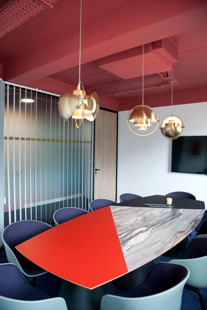 Aménagement d'espace de réunion design - CREPUSCULE Clichy
