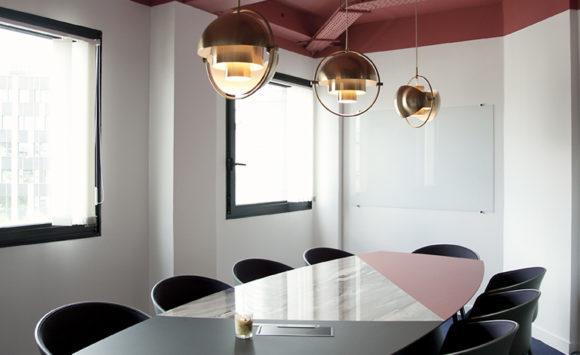 CREPUSCULE - Aménagement d'espaces de réunions, open space et espace lounge