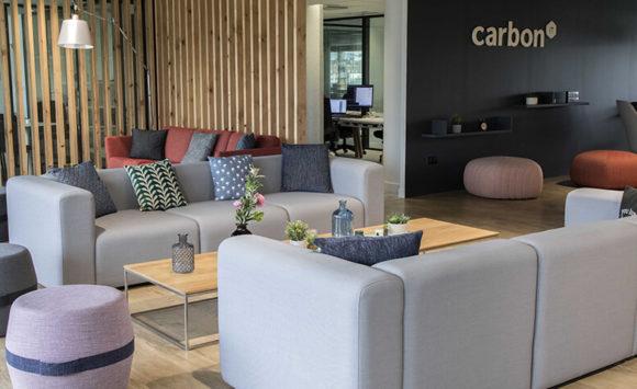 CARBON IT - Aménagement siège social : salles de réunion, cafétéria, espace détente et open space