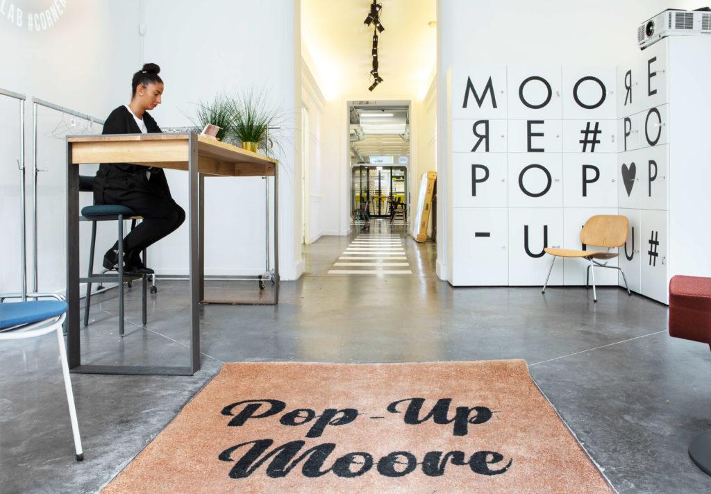 Pop up Moore