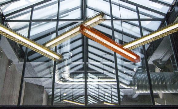 BRAINSONIC - Open space sur-mesure dans une ancienne usine de textile