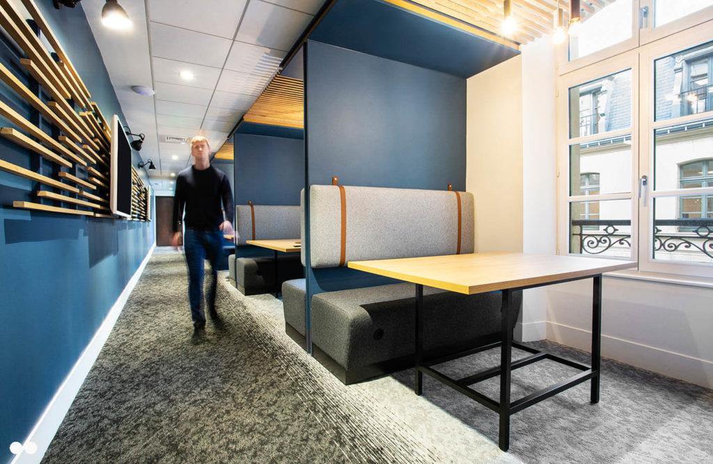 Aménagement d'espaces de travail en mode projet - JUNE PARTNERS Paris 15