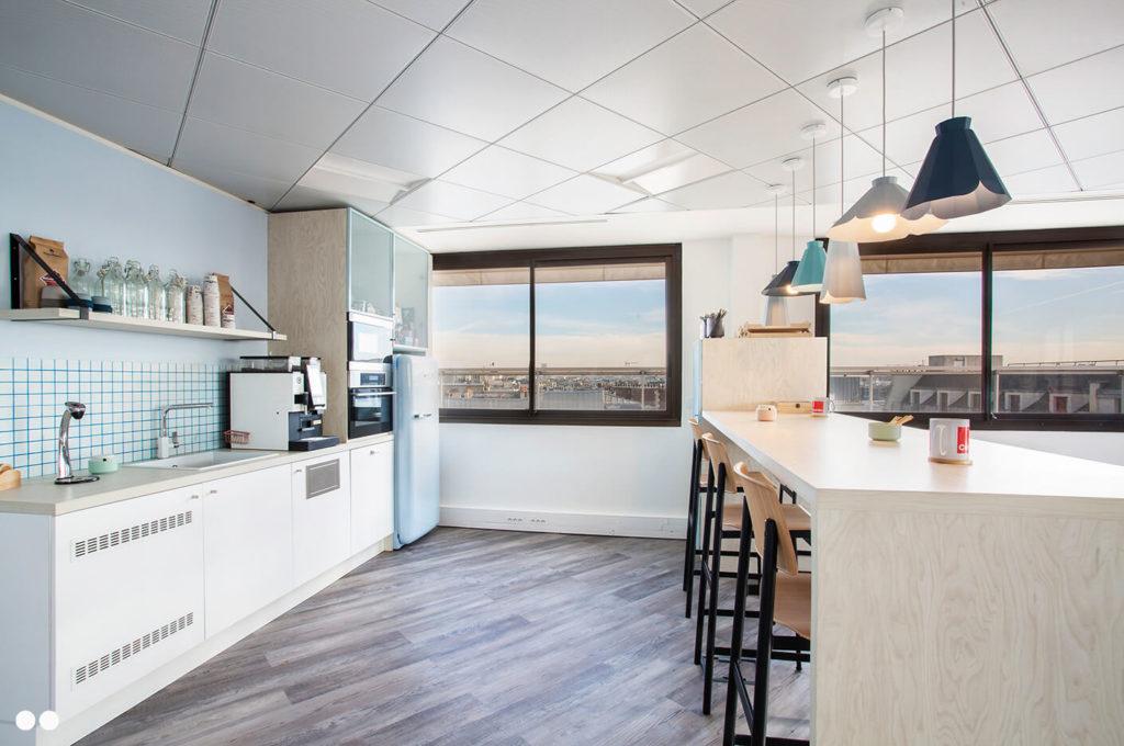 Aménagement espace cuisine - CUBIKS Paris 8