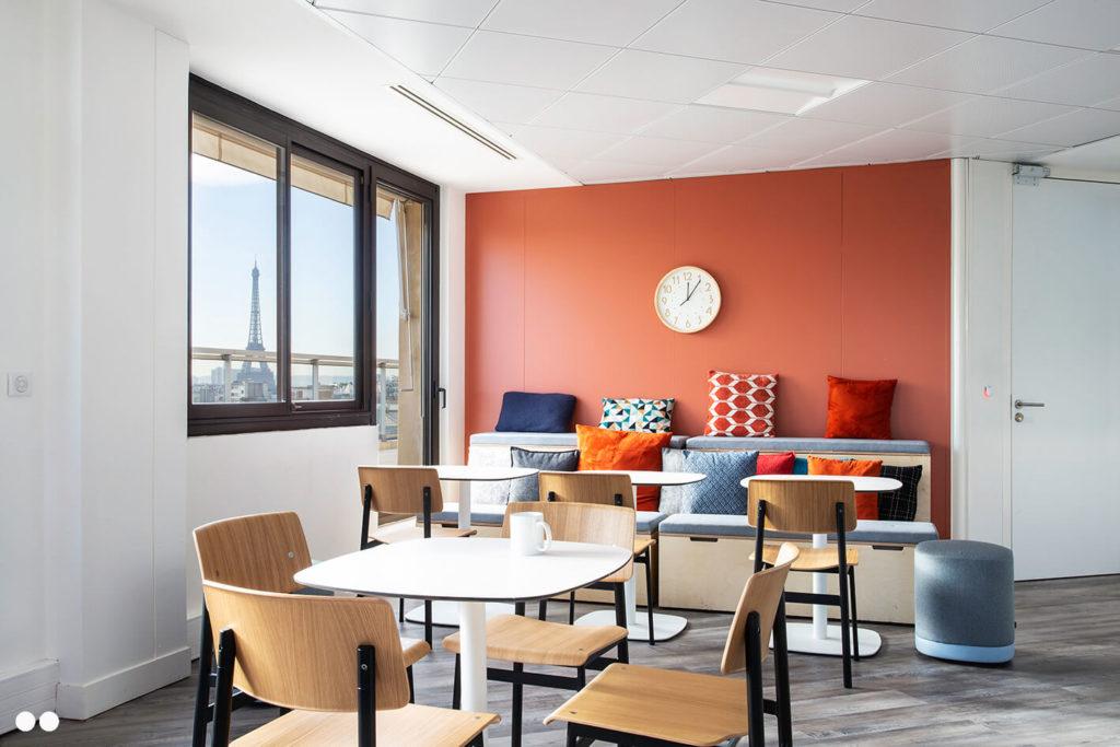 Aménagement espace cuisine et cafétéria - CUBIKS Paris 8