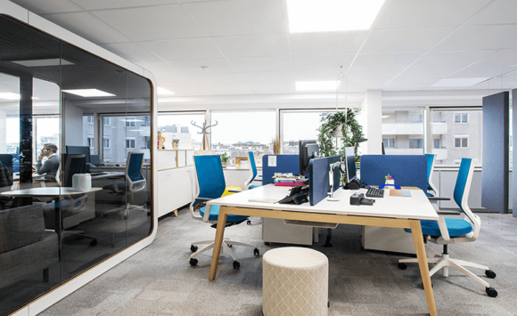 ACPM - Aménagement espaces de travail collaboratifs et projet