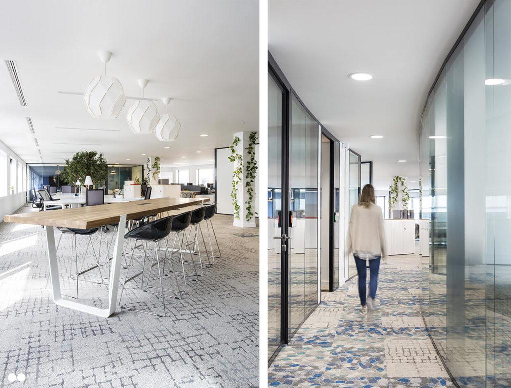 Aménagement espace de réunion informel - AXYS Consultants, Levallois Perret