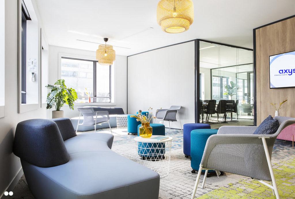 Aménagement espace de détente - AXYS Consultants, Levallois Perret