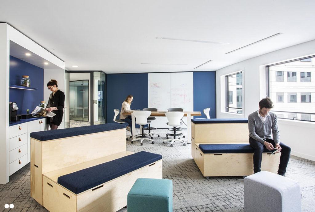 Espace collaboratif - AXYS Consultants, Levallois Perret