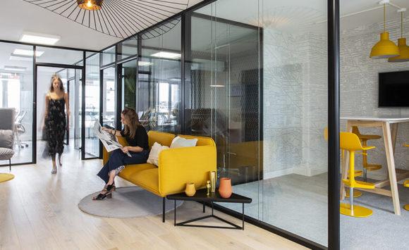 LANSROD - Aménagement open spaces modernes et agiles