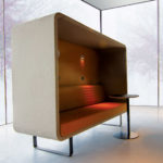 Cabine acoustique – CABIN SOFA – CONCEPTUAL FURNITURE