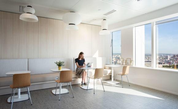 SAP - Aménagement et ameublement de bureaux en flex office