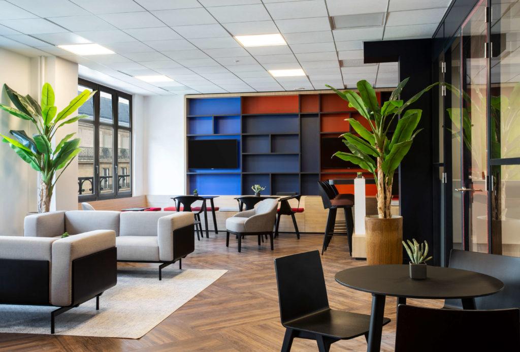 Aménagement espace de détente - DBA Paris 1