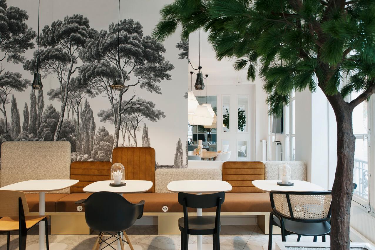 MOORE Cuisine végétale table design