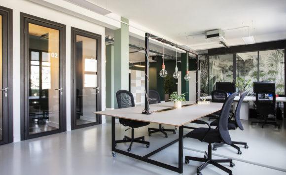 NEOXIA - Flex offices au style végétal et design