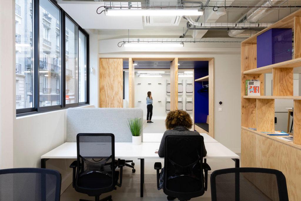 Espace open space Narbutas Le Tank - Moore Design