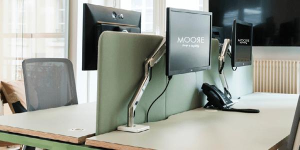 Bras support ecran humanscale ergonomique