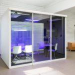 Cabine acoustique – GROUPSPACE XL – VETROSPACE 1