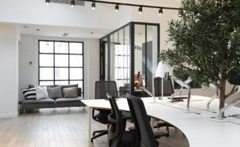 Des bureaux professionnel dans une décoration haussmannienne