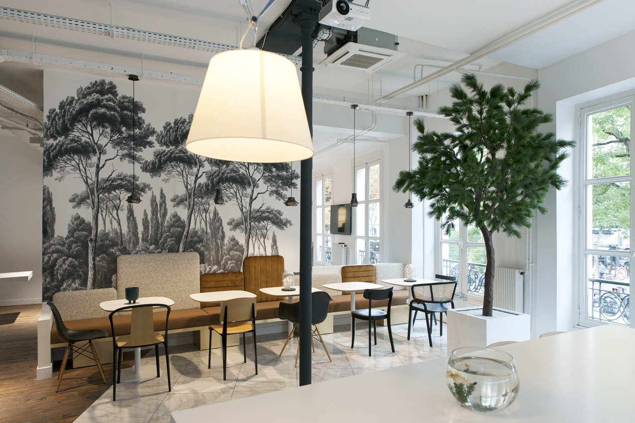 Aménagement d'espace de restauration - L'Appartement MOORE -