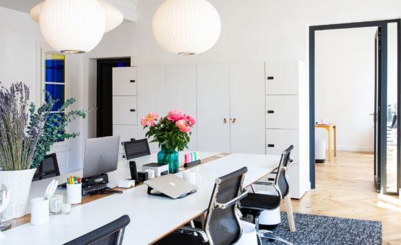 DACOR - Aménagement open space en flex office