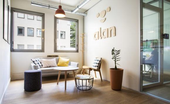 ALAN - Aménagement d'open space, salles de réunion