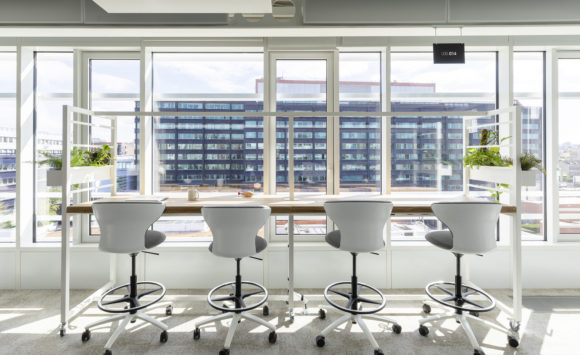 L'Oréal Le Loft - Aménagement open space en flex office