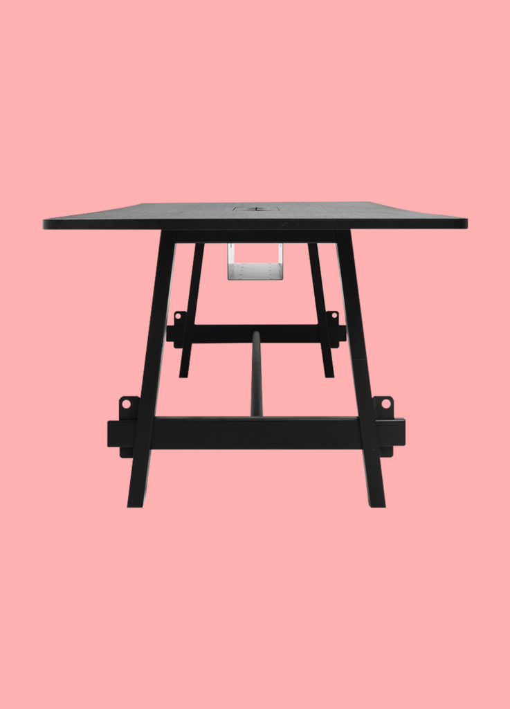 Table de réunion – LUMBERYARD – LOOOK INDUSTRIES 3