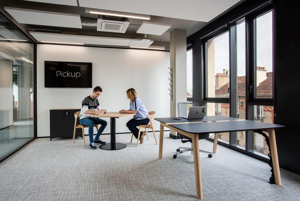 Aménagement d'un espace dédié aux managers - Réalisation PICKUP - Saint Ouen