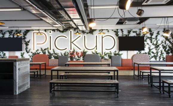 PICKUP - Aménagement d'open space, salles de réunion
