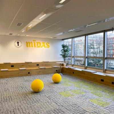 Aménagement d'un espace informel - Réalisation MIDAS - Rueil Malmaison