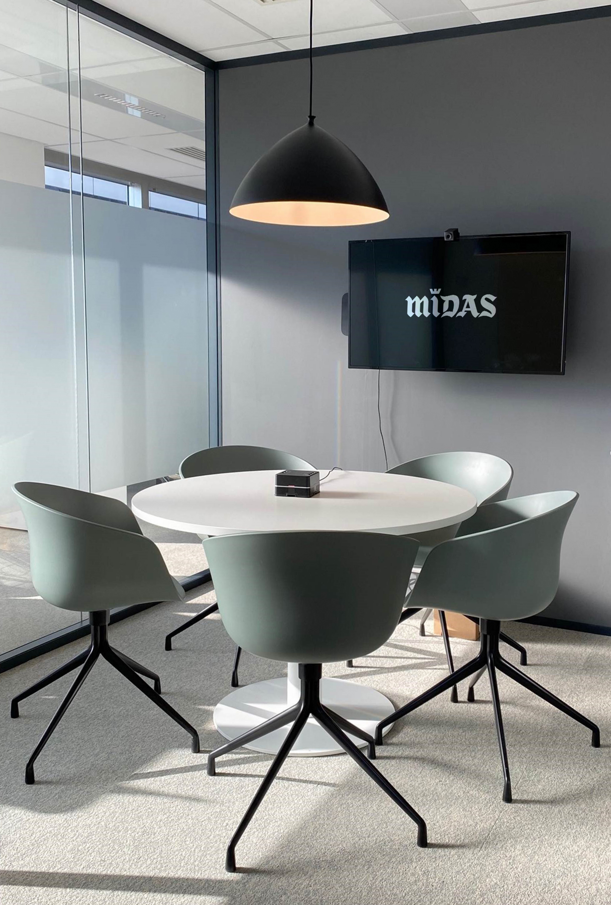 Aménagement d'une salle de réunion - Réalisation MIDAS - Rueil Malmaison