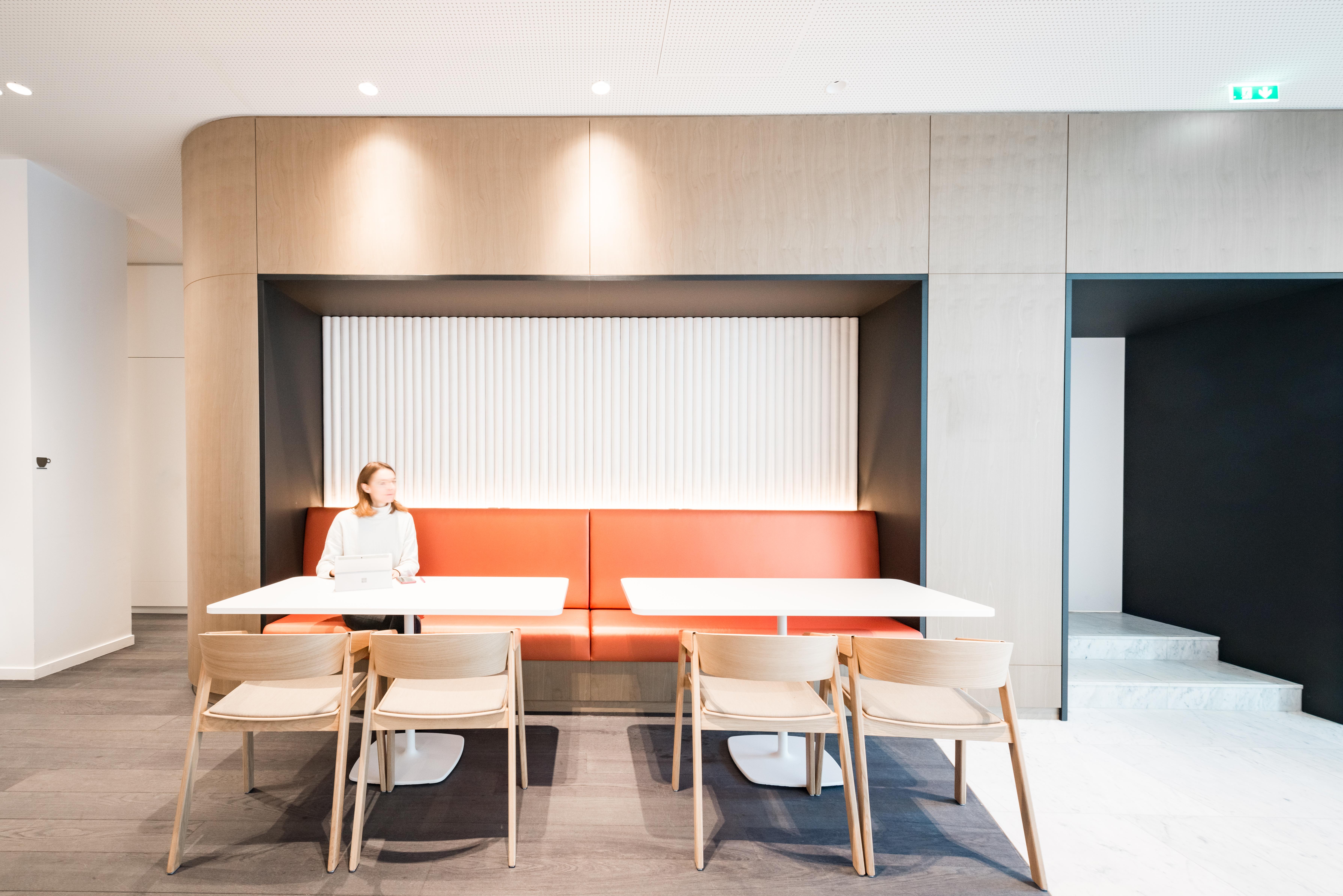 Aménagement d'un espace de restauration, repose - Réalisation UNOFI - Paris 1