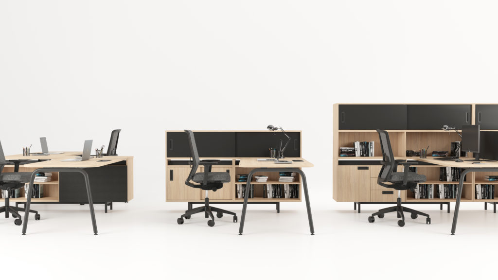desks ROUND features task chairs SURF HQ (7)