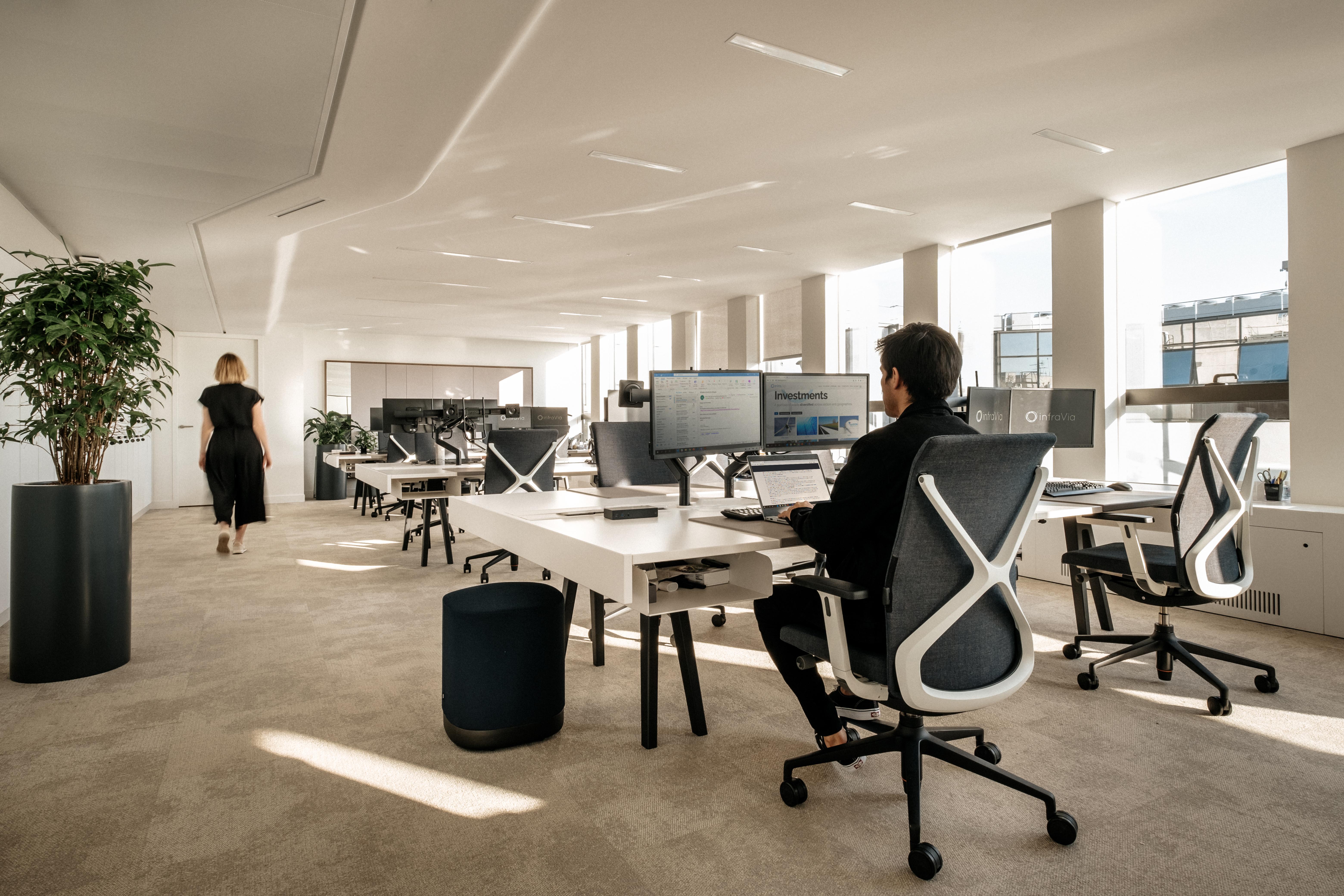 Aménagement d'espaces collaboratifs du nouveau siège social