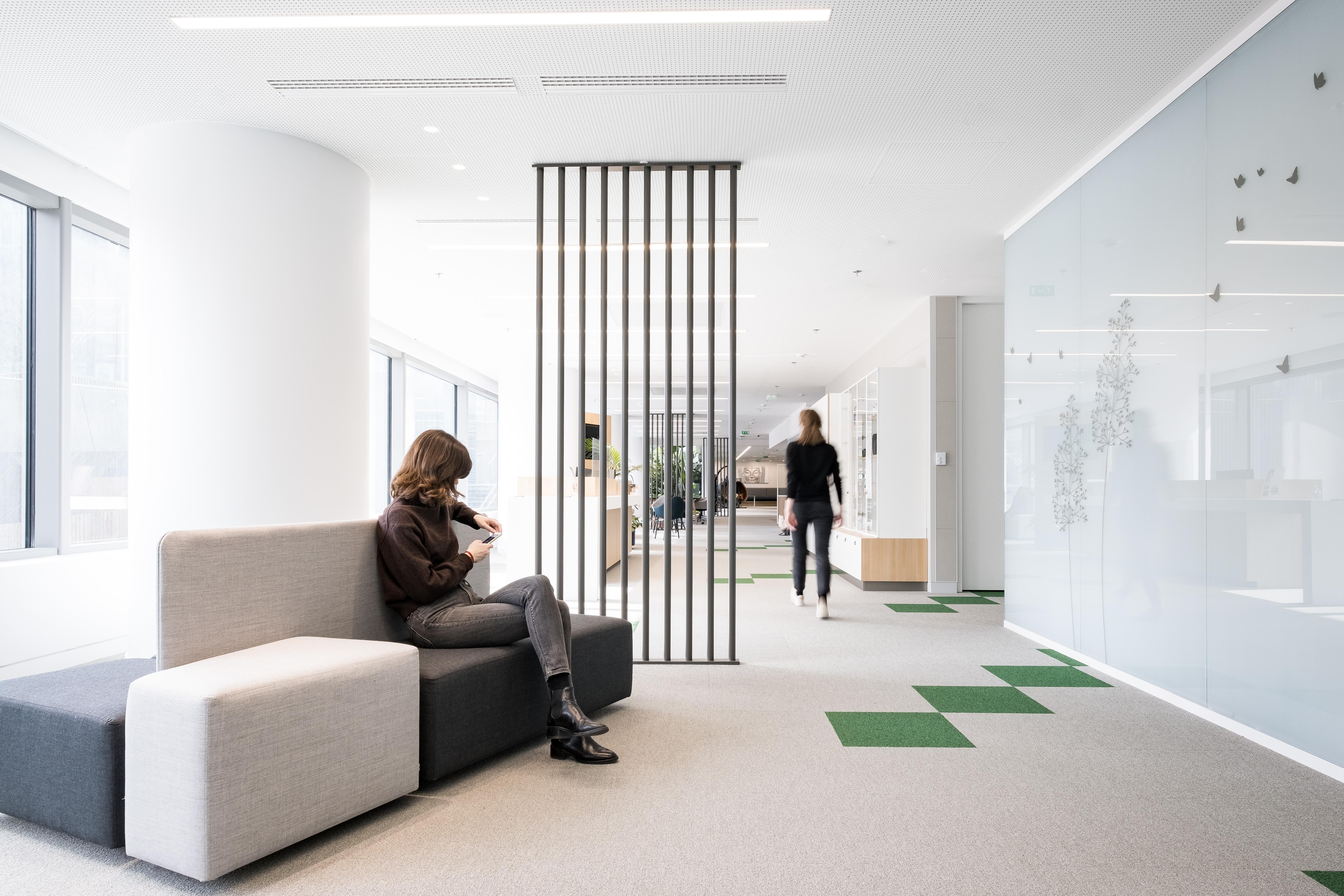 Aménagement d'espaces collaboratifs - Réalisation Saint-Gobain - Puteaux La Défense