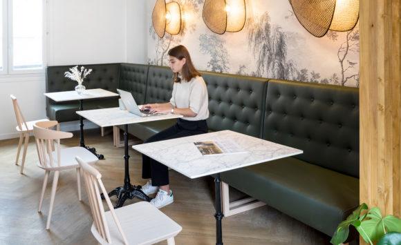 MINCA - Aménagement des salles de réunion, tisanerie, accueil, open space et espace de direction.